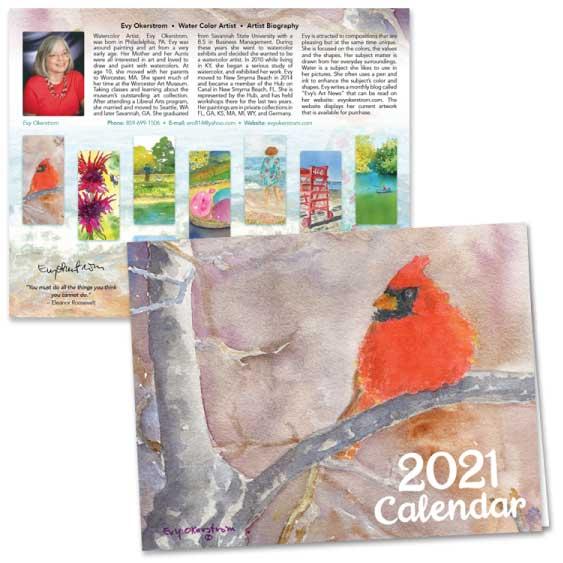 October 2020 Art News from Evy Okerstrom